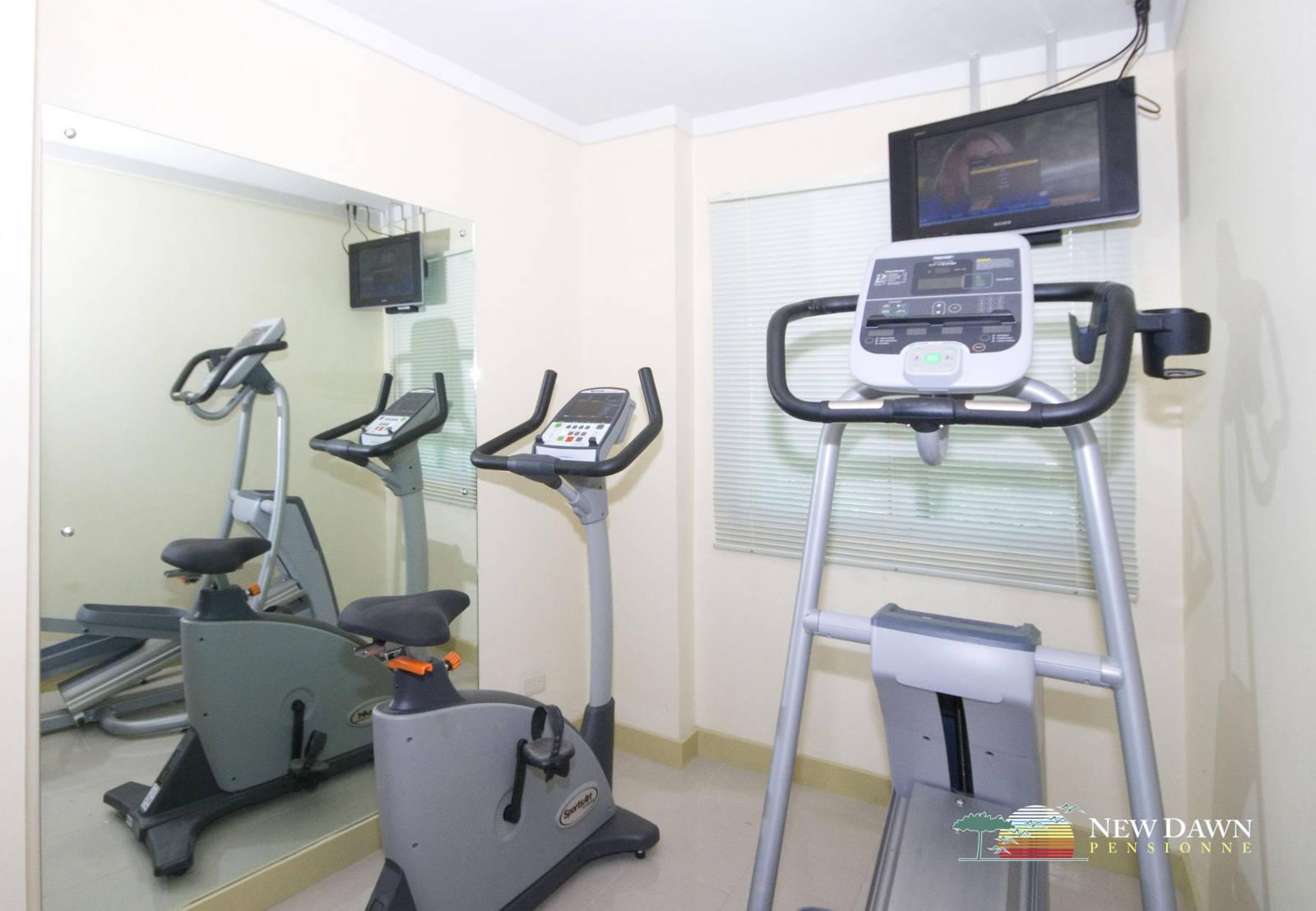 Mini gym new dawn pensionne